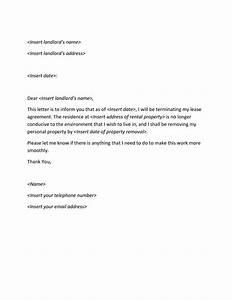 lease termination letter Archives  Sample Letter