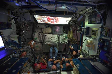 space station crew watched star wars   jedi