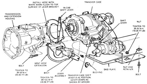 1998 Ford F150 Automatic Transmission Diagram by Repair Guides Transfer Transfer Removal