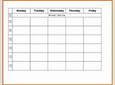 10+ weekly planner template monday to friday Lease Template