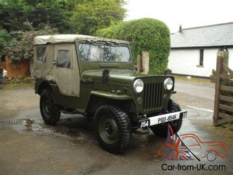 mitsubishi jeep j54 mitsubishi jeep cj3b military willys