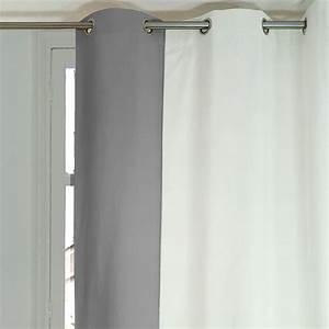 Rideau Gris Et Blanc : rideaux gris et blanc zakelijksportnetwerkoost ~ Dailycaller-alerts.com Idées de Décoration