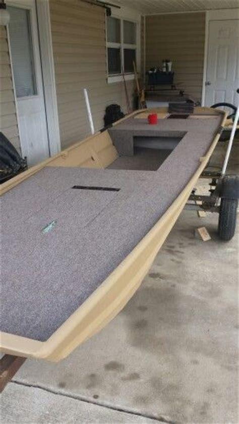Jon Boat Carpet Ideas by Side Rod Storage On The Jon Boat Jon Boat Conversion To