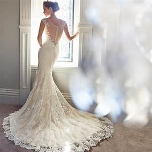 lace tight wedding dress With tight mermaid wedding dress