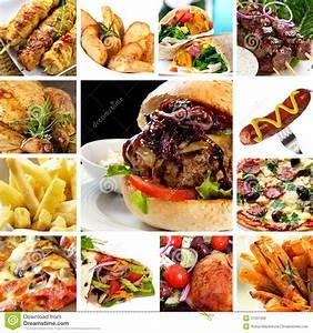 Fast Food Collection stock photoImage of hamburger