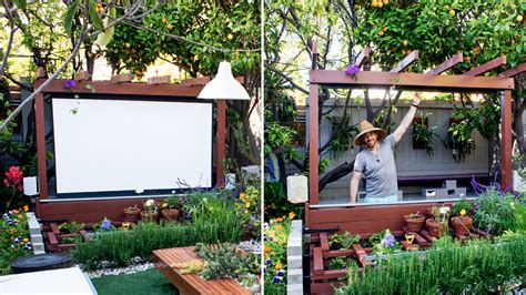 outdoor oasis gazebo thyme how to build an outdoor theater in your garden