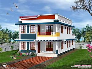 Single, Floor, House, Elevation, Front, Elevation, Indian, House, Designs, Home, Elevation, Styles