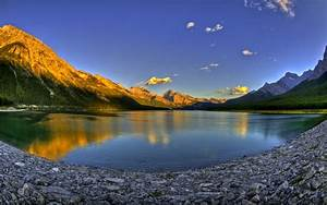 beach beautiful Valley Sunset – Nature Lakes HD Desktop ...