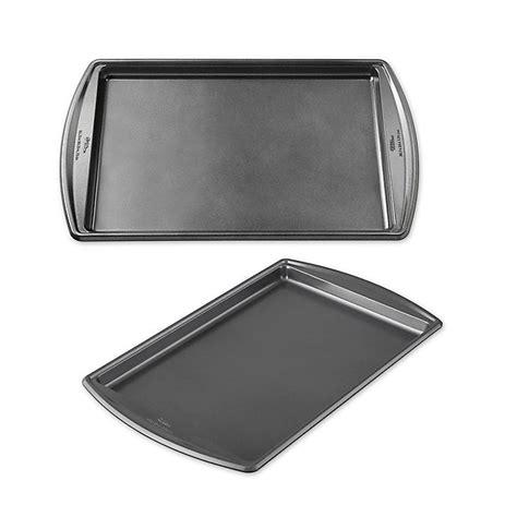 wilton sheet baking nonstick select advance cookie sheets premium beyond bath bed bedbathandbeyond