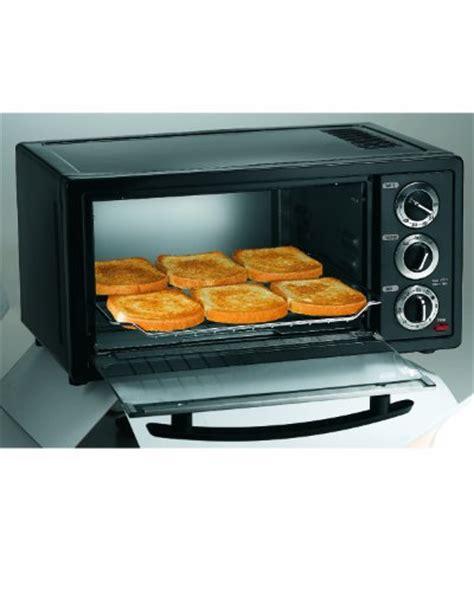 Hamilton Toaster Oven by Hamilton 31508 6 Slice Capacity Toaster Oven