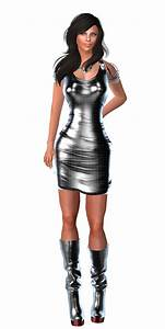 83 best my second life styles images on pinterest life With robe noir brillante
