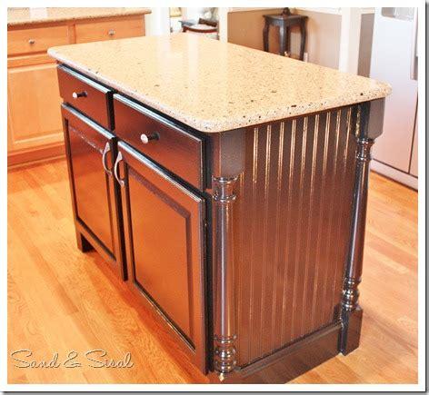 kitchen island makeover kitchen island makeover sand and sisal