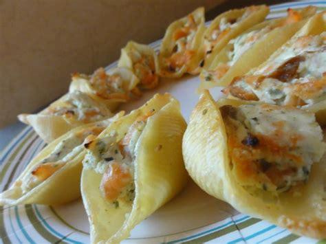 saumon boursin cuisine conchiglie farcies au saumon et au boursin la cuisine de