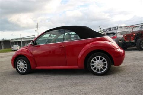 old cars and repair manuals free 2006 volkswagen new beetle electronic valve timing sell used 2005 volkswagen vw beetle gls convertible very clean manual wow 2004 2006 in north