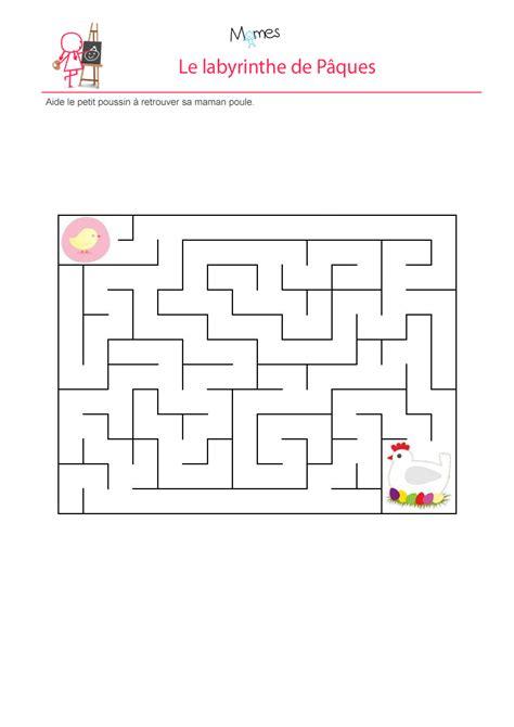 jeux de cuisin e labyrinthe du poussin de pâques momes