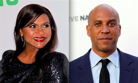 Cory Booker NOT Father Of Mindy Kaling Baby, Despite Report