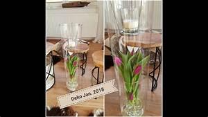 Deko Im Januar : home deko januar 2018 homedeko dekoration 2018 tulpen glas jan youtube ~ Frokenaadalensverden.com Haus und Dekorationen