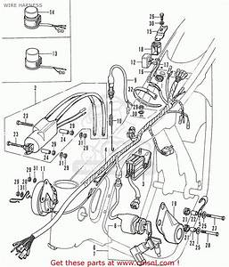 Honda Cd175 T4 Canada Wire Harness