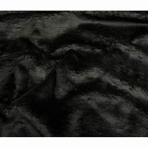 Tissu Imitation Fourrure : tissu imitation fourrure noir largeur 153cm x 50cm ~ Teatrodelosmanantiales.com Idées de Décoration