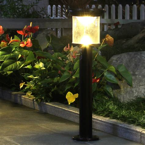 outdoor solar power yard lawn lights 12v led dimmable