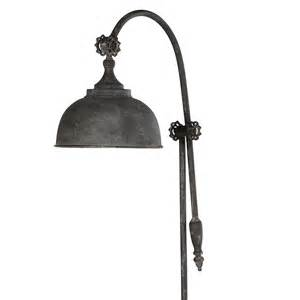 White Floor Lamp Shade by Industrial Arch Floor Lamp