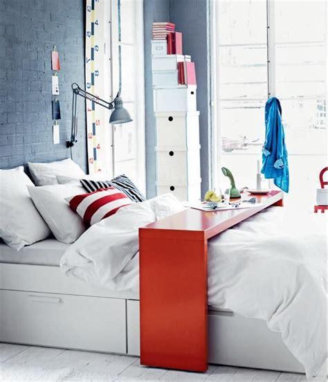 Ikea Bedroom Table by Bed Rolling Desk Table Bedroom