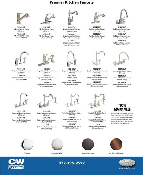 faucets for your bathroom or kitchen c w plumbing