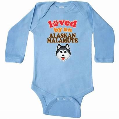 Creeper Inktastic Alaskan Malamute Lover Sleeve Dog