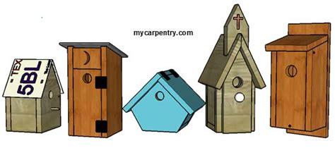 build  birdhouse easy  build bird house plans