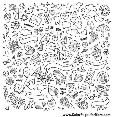 doodle coloring page    lines pinterest