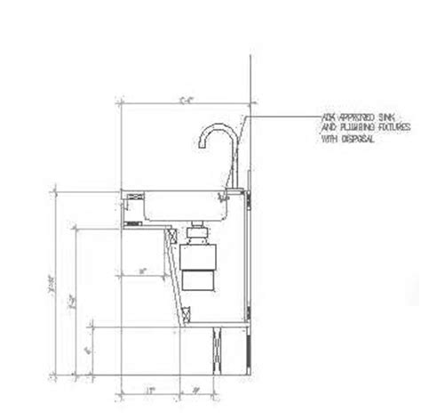 ada compliant kitchen cabinets ada bathroom cabinet height home decor takcop 3981