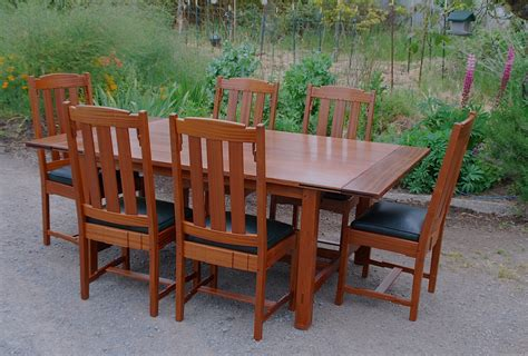 Mission Style Kitchen Table And Chairs 100 Images 7