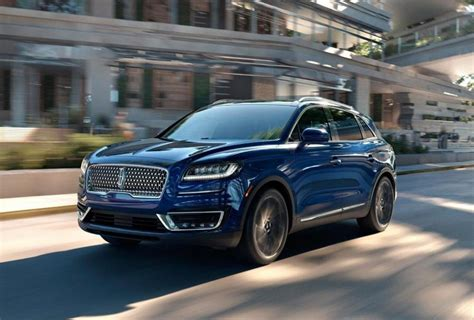 lincoln nautilus price release date review specs