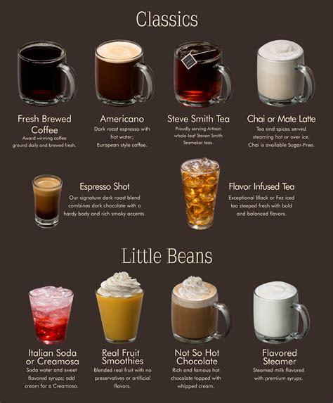 Human  Ee  Bean Ee   Menu Espresso Specialties Cl Ic Drinks