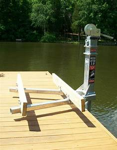 Manual Small Boat Lift