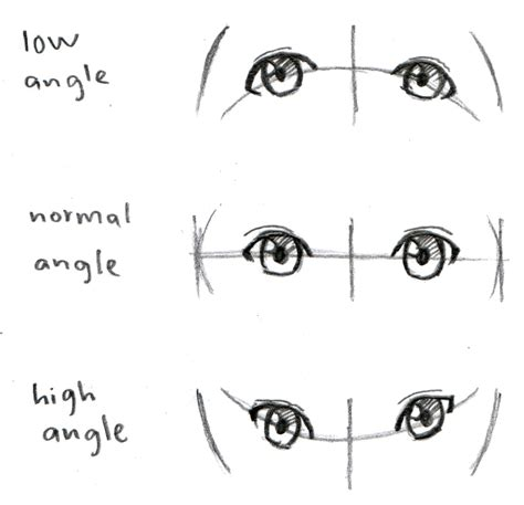 cat s eye anime vs manga johnnybro s how to draw manga how to draw manga eyes