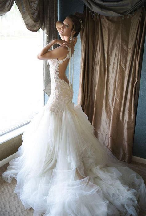 1000 Ideas About Mermaid Wedding Dresses On Pinterest