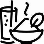 Makanan Icon Minuman Icons Essen Ikon Symbol
