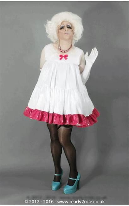 Petticoat Doll Bodice Trim Contrast Sissy Ready2role