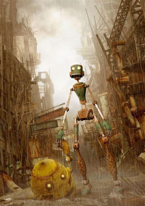 robot art ideas  pinterest robots steampunk