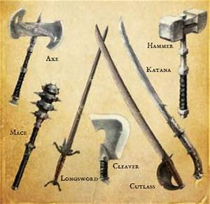 Image - Melee weapons.jpg - The Fable Wiki - Fable, Fable ...
