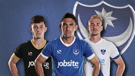 Portsmouth 16-17 Kits Released - Footy Headlines