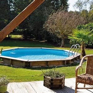 Piscine Bois Ronde : piscines bois hors sol ou enterrer rectangulaires ovales ou rondes ~ Farleysfitness.com Idées de Décoration