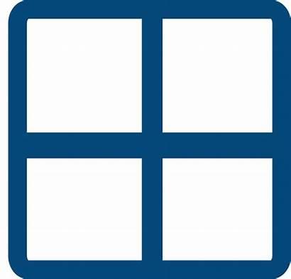 Grid Solid Clipart Square Clip Clker Transparent