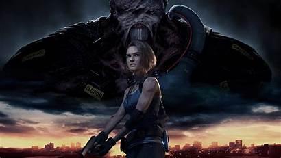 Resident Evil Remake 4k Games Wallpapers Jill