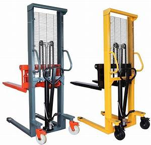 2 Ton 1 6m Hand Pallet Truck Stacker Hydraulic Manual