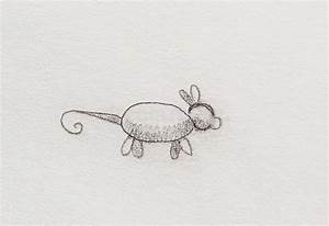 Stylized mouse drawing stock illustration. Illustration of ...