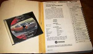 1971 Plymouth Service Manual Gtx Satellite Belvedere Road