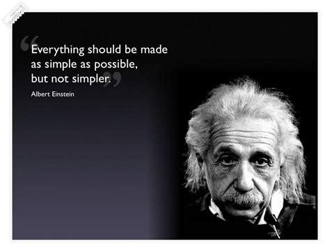 Einstein Quotes On Simplicity Quotesgram