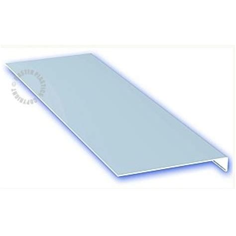 Thin Window Sill by 3mm X 2 5m White Thin Upvc Window Cill Cover Board